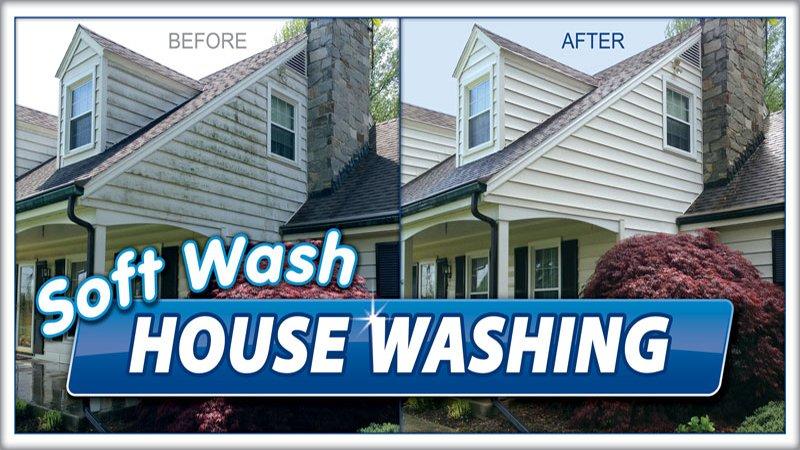 House Washing Soft Wash Elite Exterior Cleaning